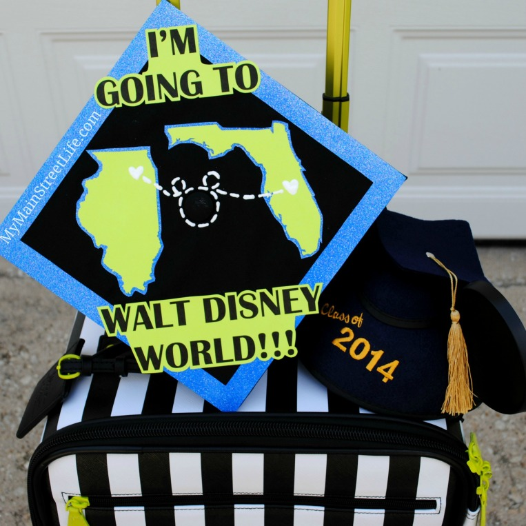 Disney graduation cap2