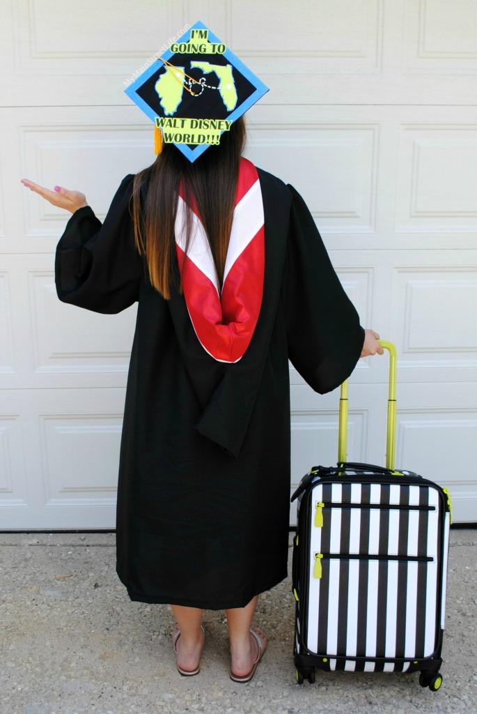 Disney world graduation cap